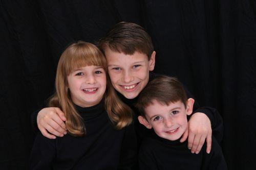 siblings three children 3 kids
