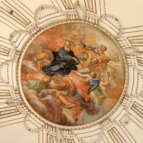 sicily ragusa ceiling