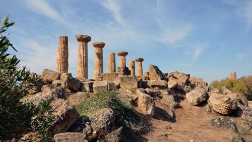 sicily archaeological site valley of the temples