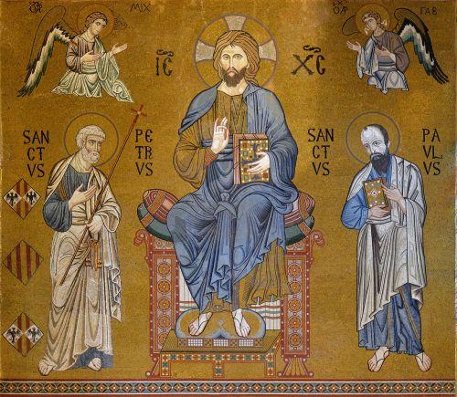sicily palatine chapel mosaic