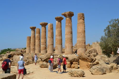 sicily agrigento temple
