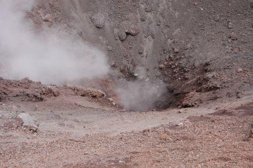 sicily volcano crater