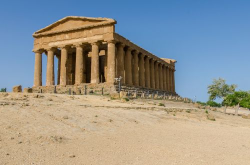 sicily agrigento temple