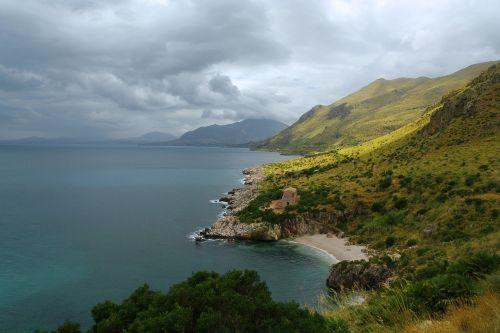 sicily sea nature