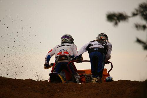 sidecar motorcycle race