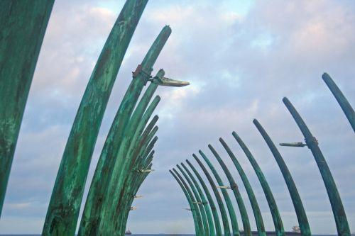 Sides Of Umhlanga Pier