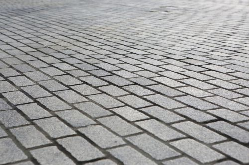 sidewalk path cobblestone