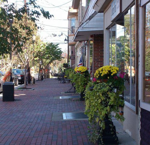 sidewalk brick america