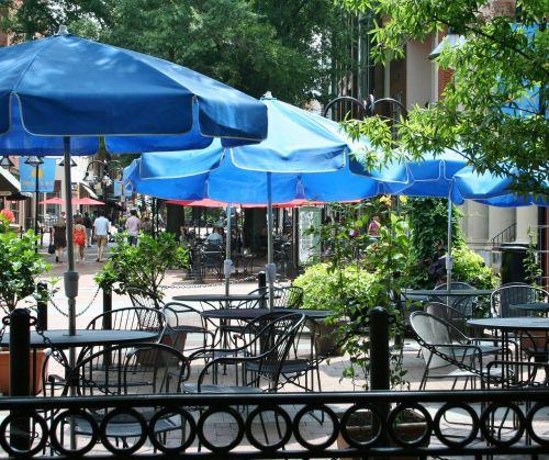 sidewalk cafe sidewalk restaurant tables