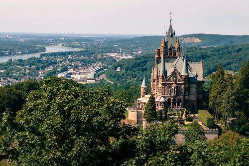 siebengebirge  dragon rock  dragon castle