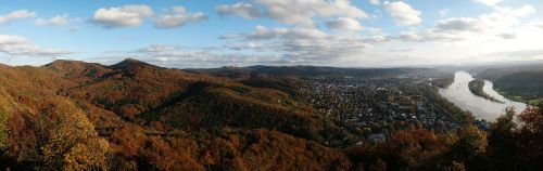 siebengebirge rhine bad honnef germany