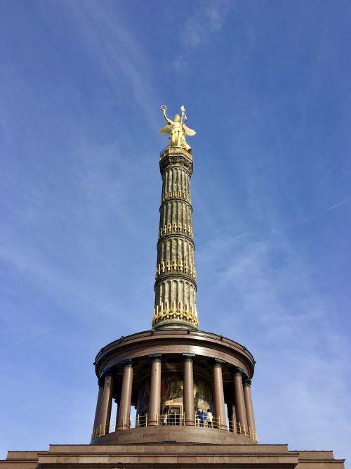 siegessäule victory column architecture