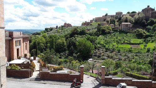 siena tuscany park
