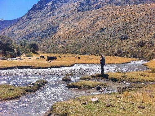 sierra huaraz treking