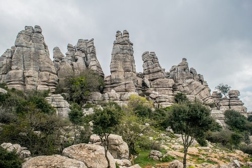 sierra  andalusia  rock nature