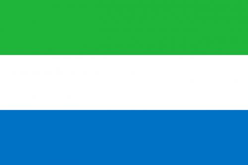 sierra leone flag national flag