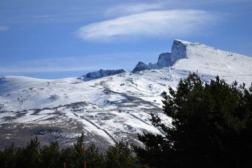 sierra-nevada granada mountain