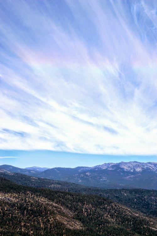 Sierra Nevada Mountains Sky