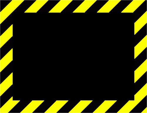 sign frame danger