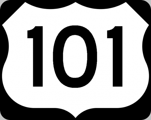 sign road route