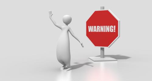 sign warning warning sign
