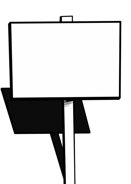 sign protest blank