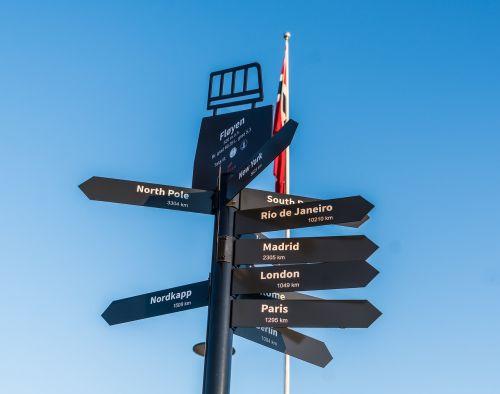 sign directions bergen