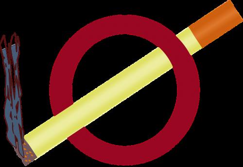 no smoking signs symbols