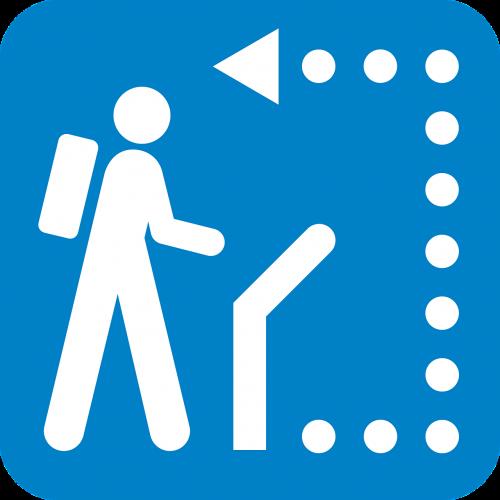 sign path follow