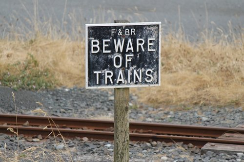 sign  warning  beware