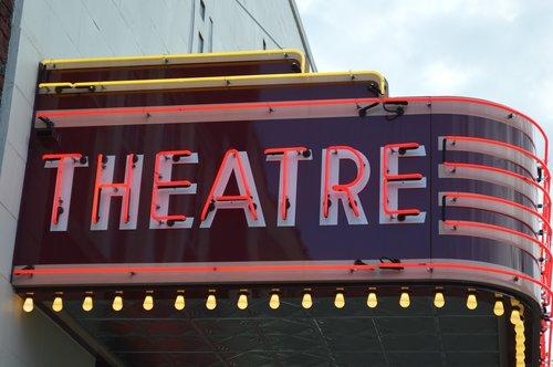 sign  theatre  cinema