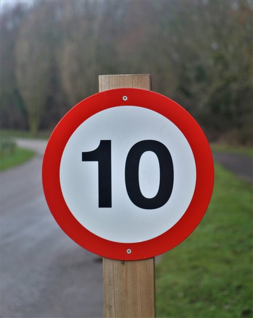 sign  limit  speed