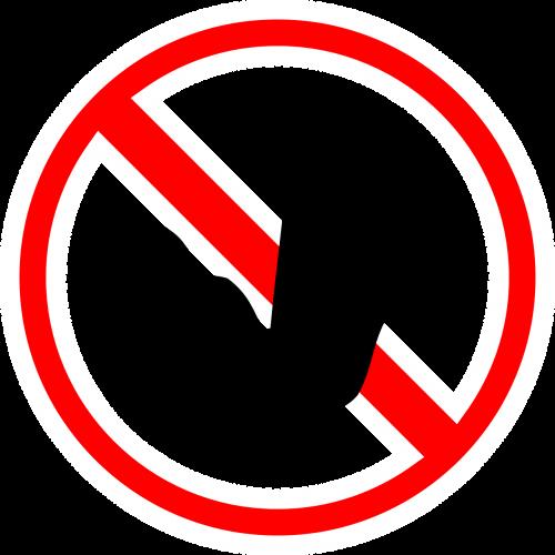 sign stop halt