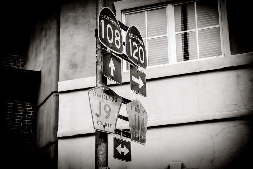 signage retro signboard