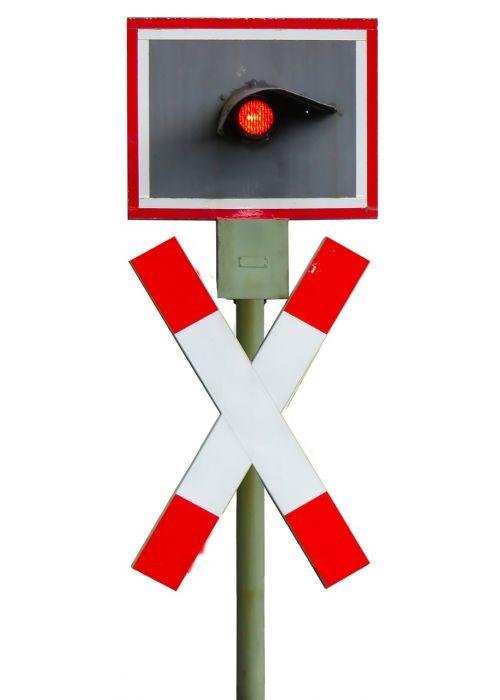 signal train andreaskreuz