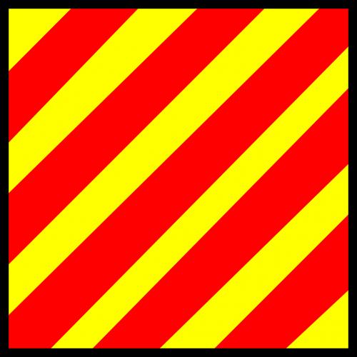 signal flag nautical