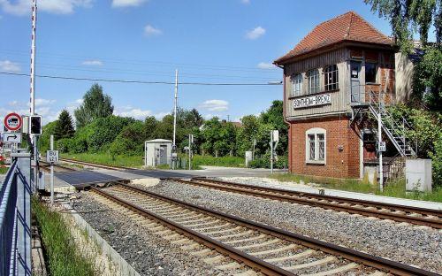 signal box old signal box sontheim