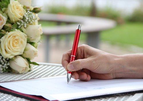 signature  hand  pen