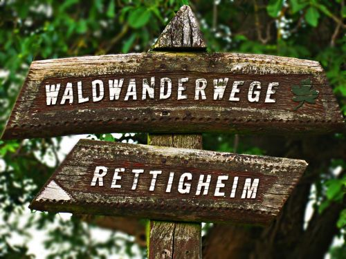 signpost name direction