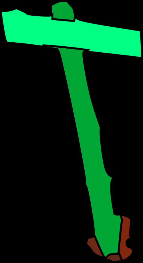 signpost green sign