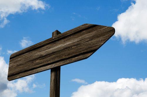 Signpost Blank