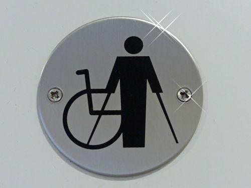 signs disabled handicap