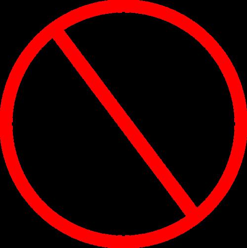 signs red circle