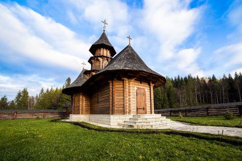 sihastria monastery putnei bucovina romania