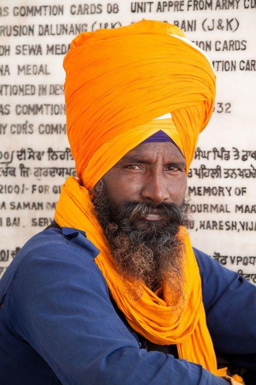 sikh india turban