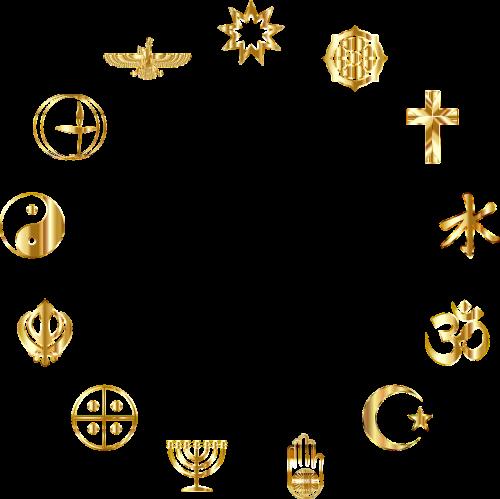 silhouette black religion