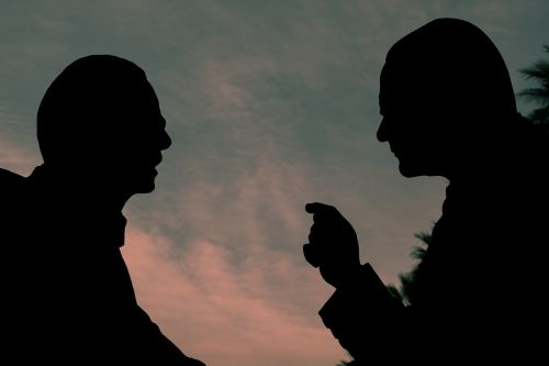 silhouette reverse light talk