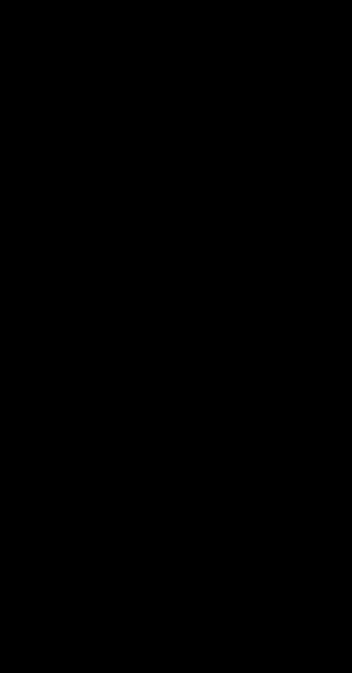 silhouette selfi isolated