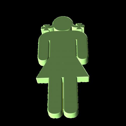 silhouette person human