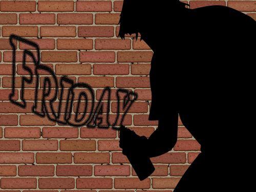 silhouette man sprayer
